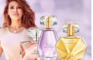 Avon Eve collection avec Eva Medes